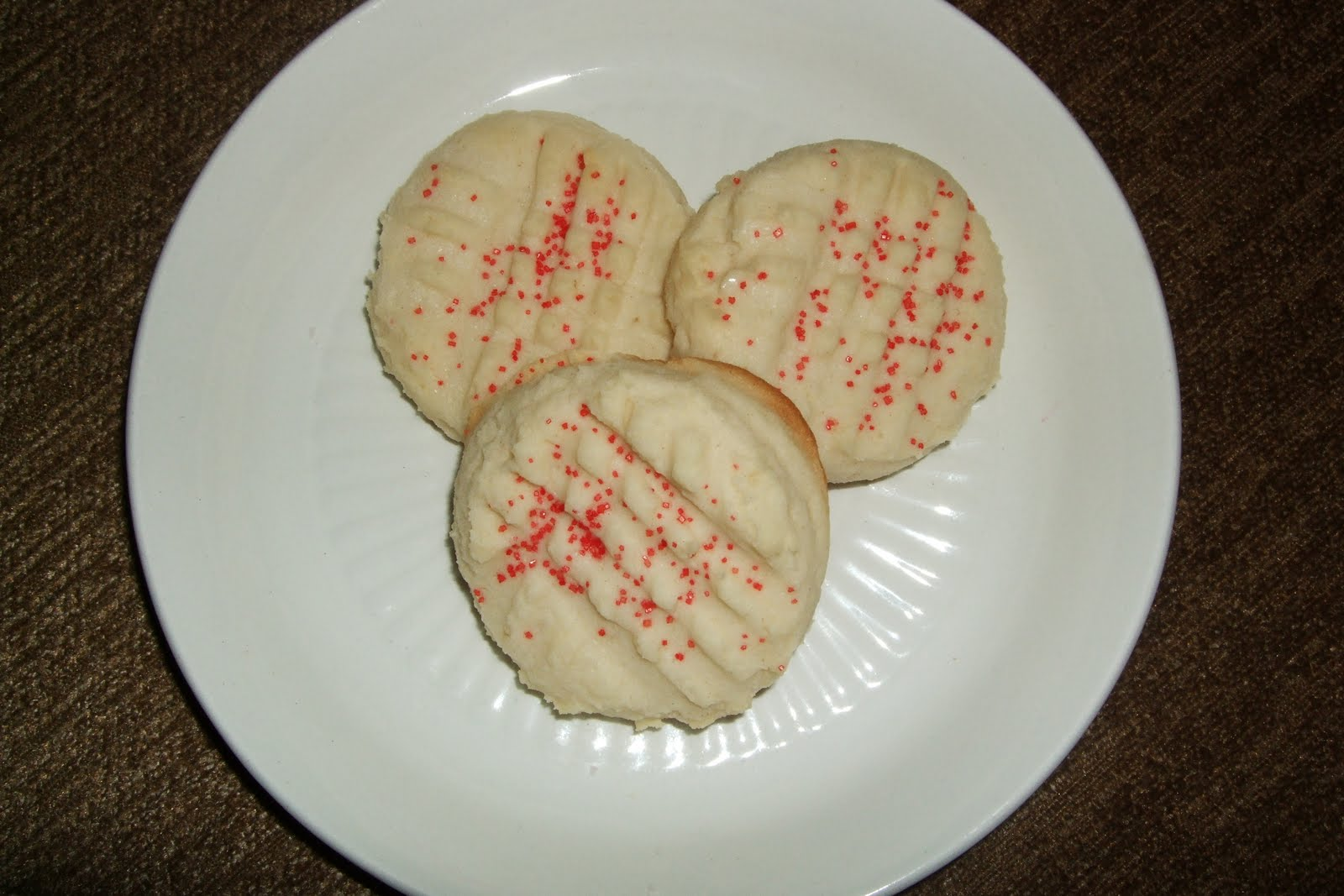 What's for Dinner??: Melt in Your Mouth Shortbread Cookies