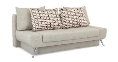Futonland signature convertibles amanda fabric sofa by for Sofa 400 euro