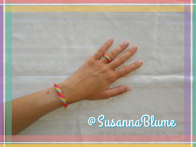 diy: Crear pulsera y anillo a juego