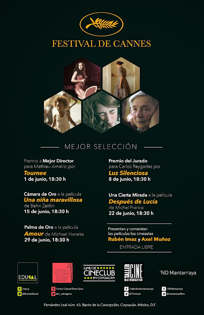 Lo mejor del Festival de Cannes se proyectará en el Centro Cultural Elena Garro