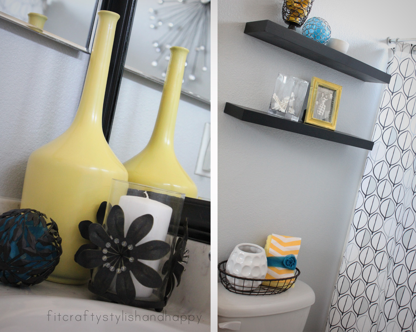 Perfect Yellow and Gray Bathroom Decor 1440 x 1152 · 390 kB · jpeg