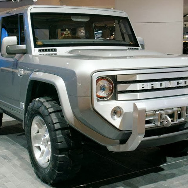 Download New Ford Bronco Photo