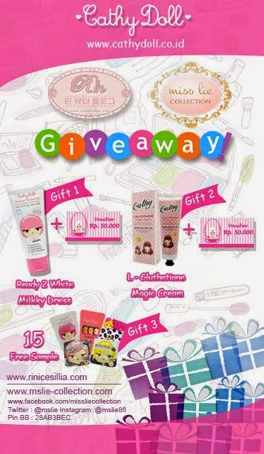 Rini Cesillia Giveaway feat MissLie Collection