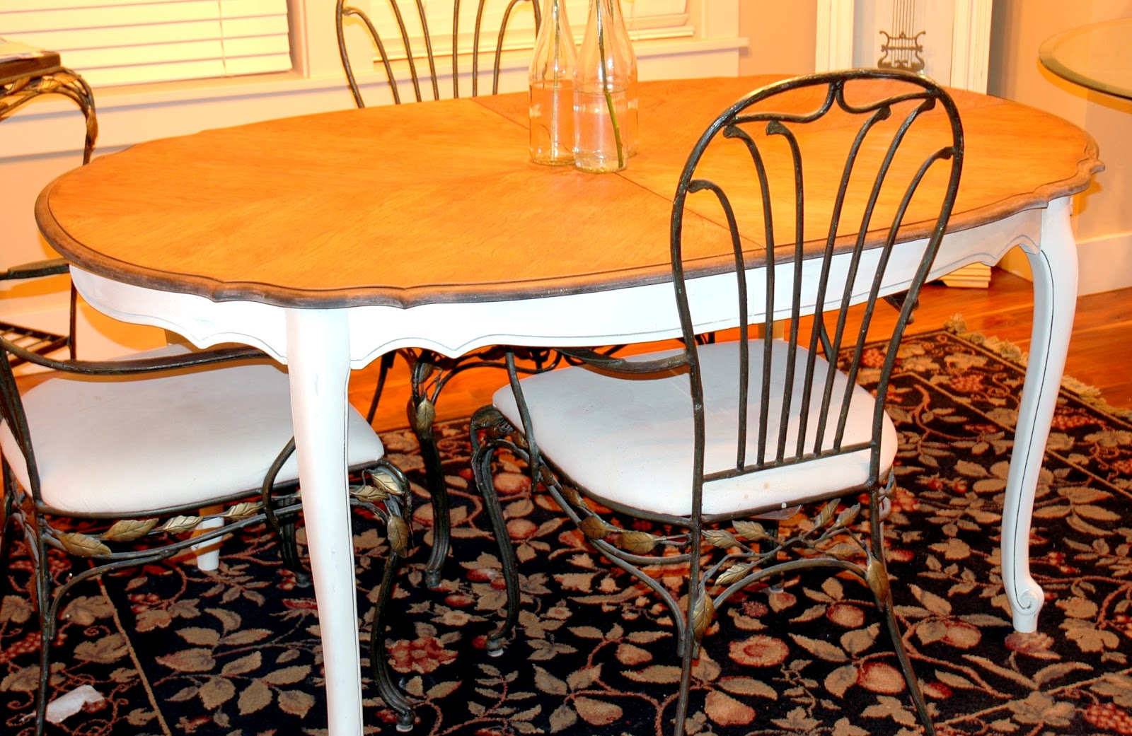 The Turquoise Piano Copycat Monday Dining Room Table
