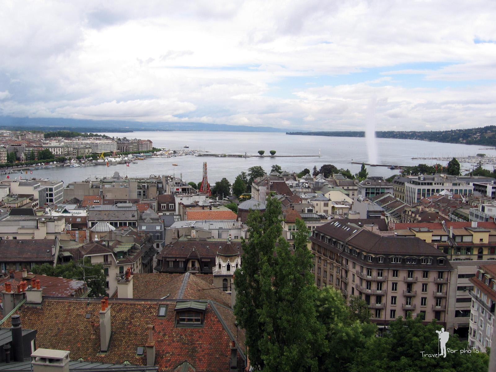 Spre Lacul Geneva