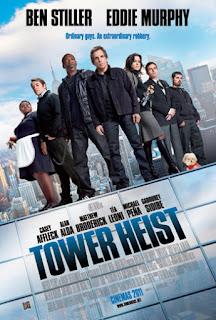 Tower Heist poster movie review eddie murphy ben stiller
