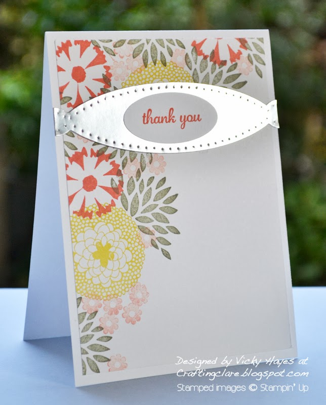 Get Petal Parade and Banner Blast from Stampin' Up free with orders of £45 from Crafting Clare during Sale-a-bration