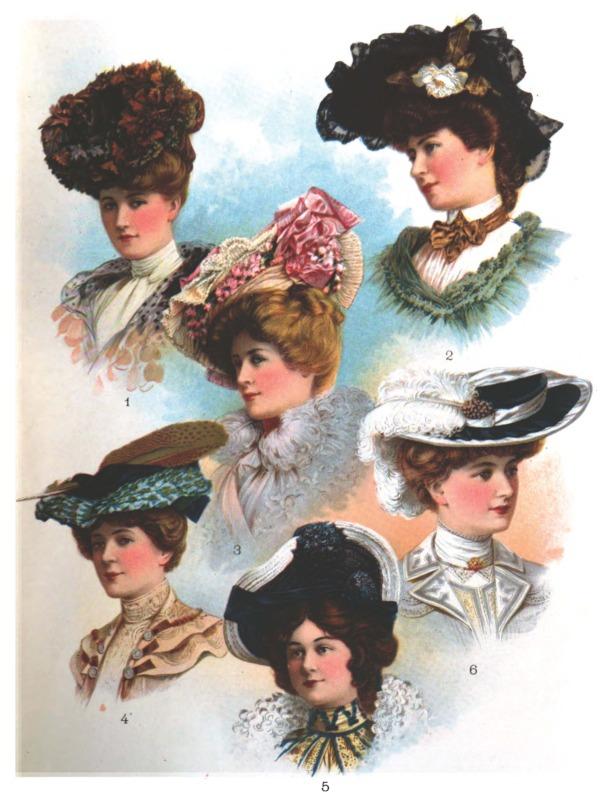 1900s Fashion Hats  Zazzle