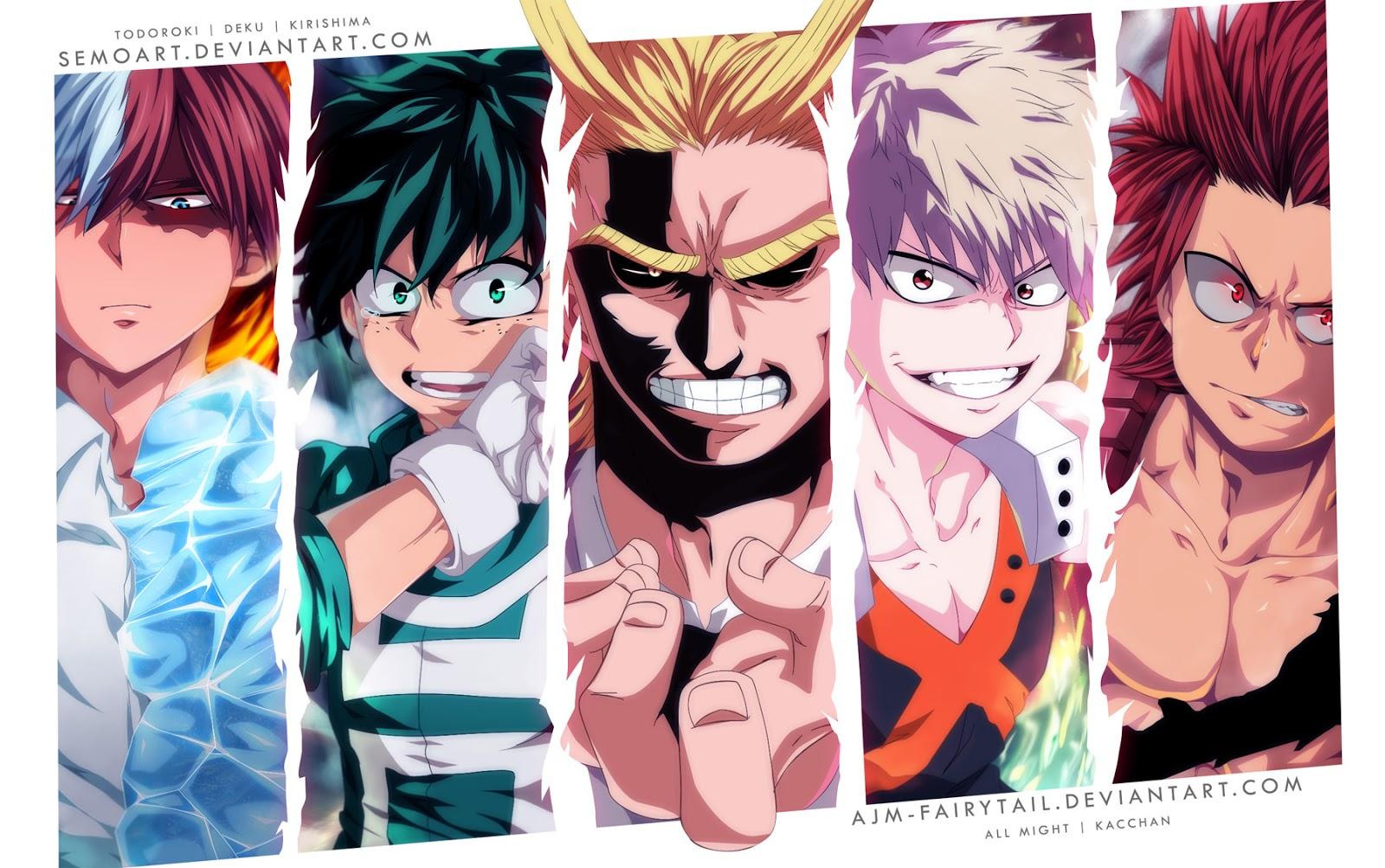 Boku no Hero Academia Chapter 110-17