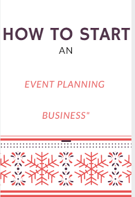 E-BOOK on Starting an Event Planning Business