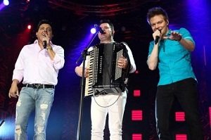 Bruno e Marrone lançam música com Michel Teló