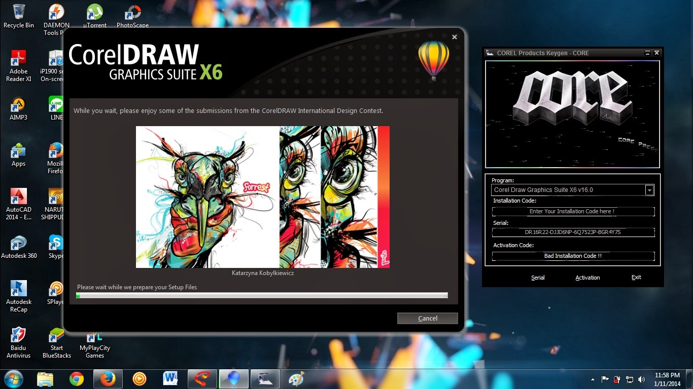 Corel Draw X6 Keygen - Free Download. CorelDRAW Graphics Suite X5 15