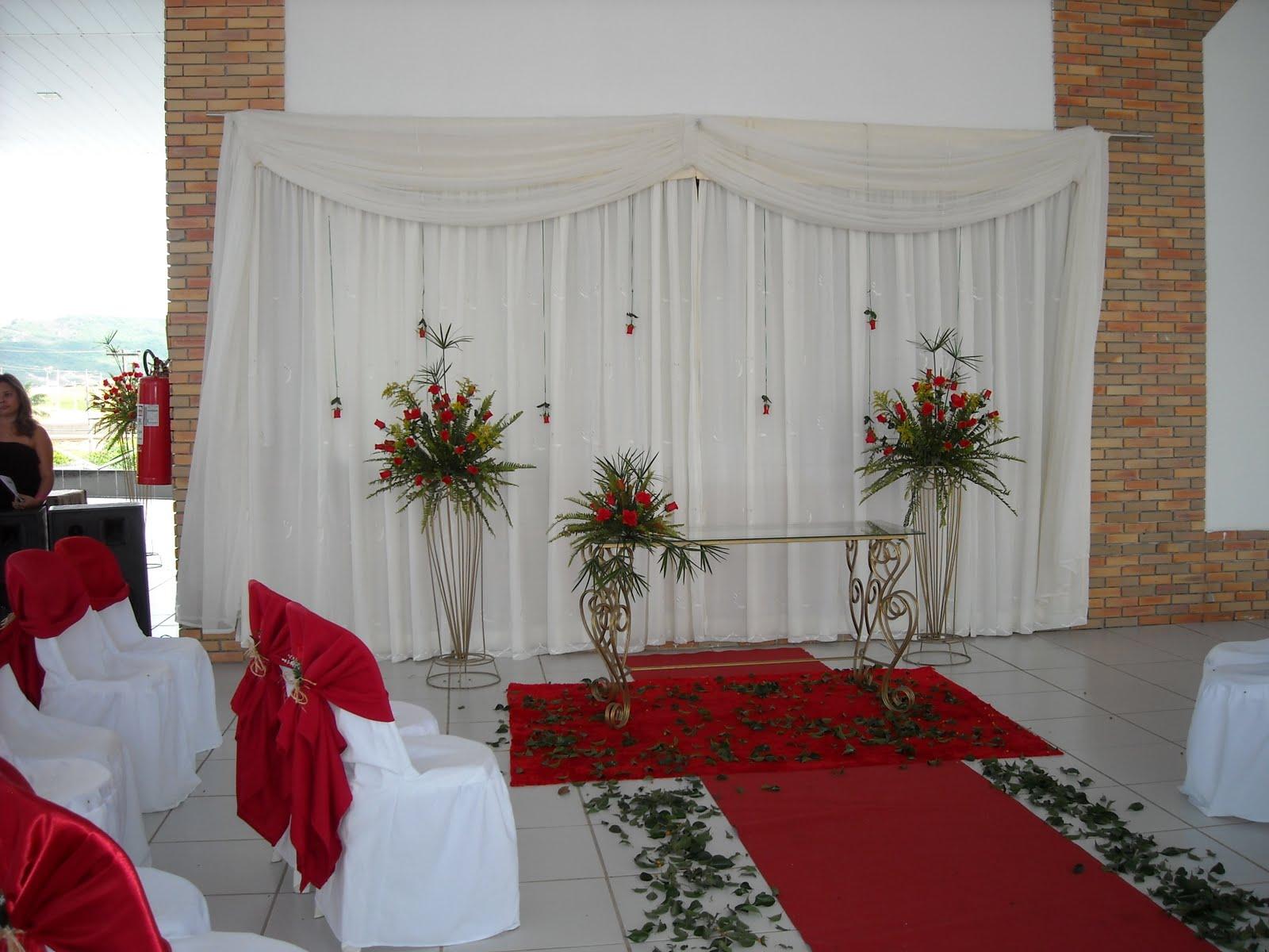 Decorlia Casamento Evangélico  Fernanda e Wdenes