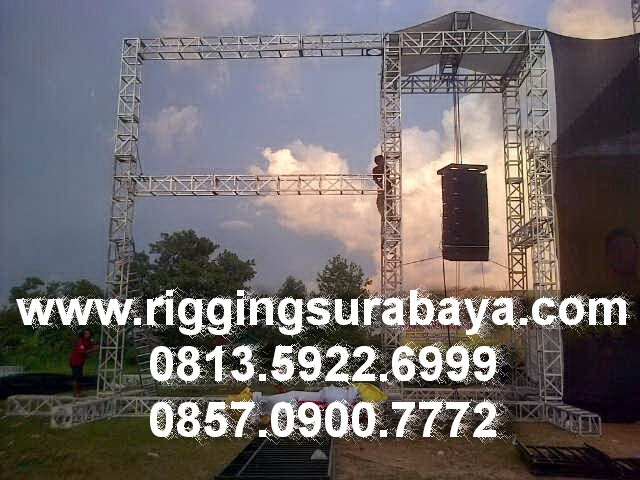 Rigging Sound System Kubus