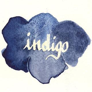 indigo watercolour test