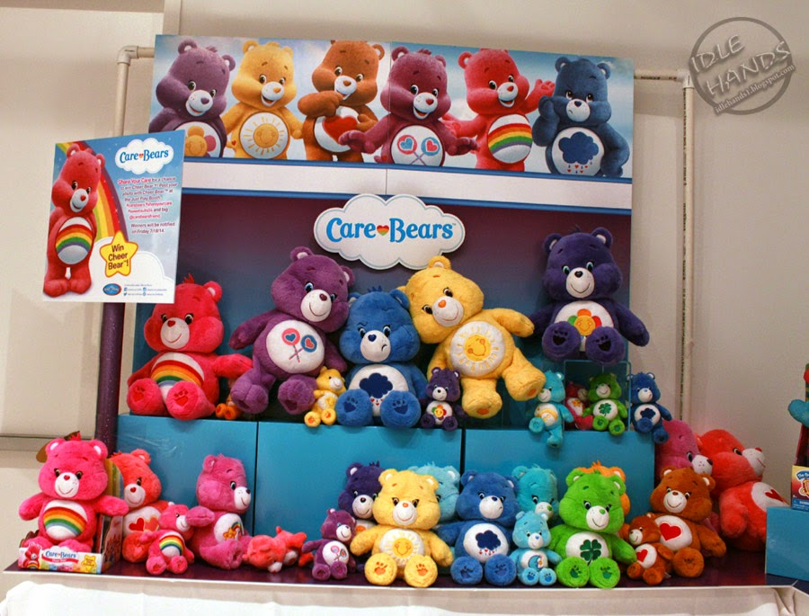 Just Play Toys : Idle hands the care bears are back