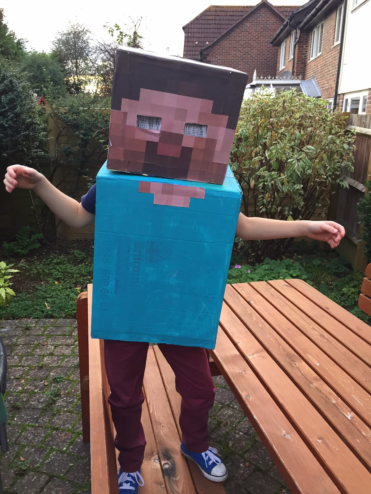Herobrine, Minecraft, costume, Halloween