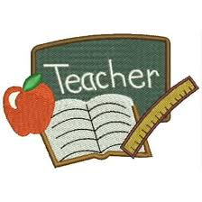 This says teacher.