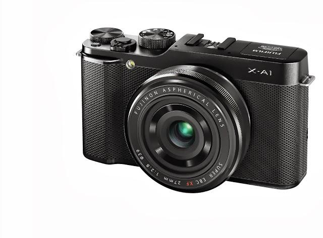 Fotografia della Fuji X-A1 con l'ottica XF 27mm