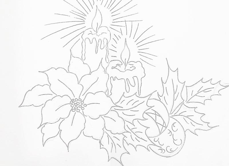 imagens sinos natal colorir - Natal Desenhos de Sinos para Colorir