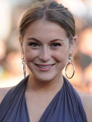 Alexa Vega Sterling Hoop Earrings