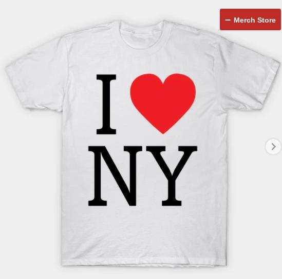 """""""I LOVE NY""""  Tee SHIRT"""