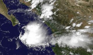 Tropischer Sturm NORMAN Mexiko - Sturmwarnung in Sinaloa, Norman, aktuell, Mexiko, Sinaloa, Satellitenbild Satellitenbilder, Vorhersage Forecast Prognose, Sturmwarnung, Pazifische Hurrikansaison, Nordost-Pazifik, September, 2012, Baja California,