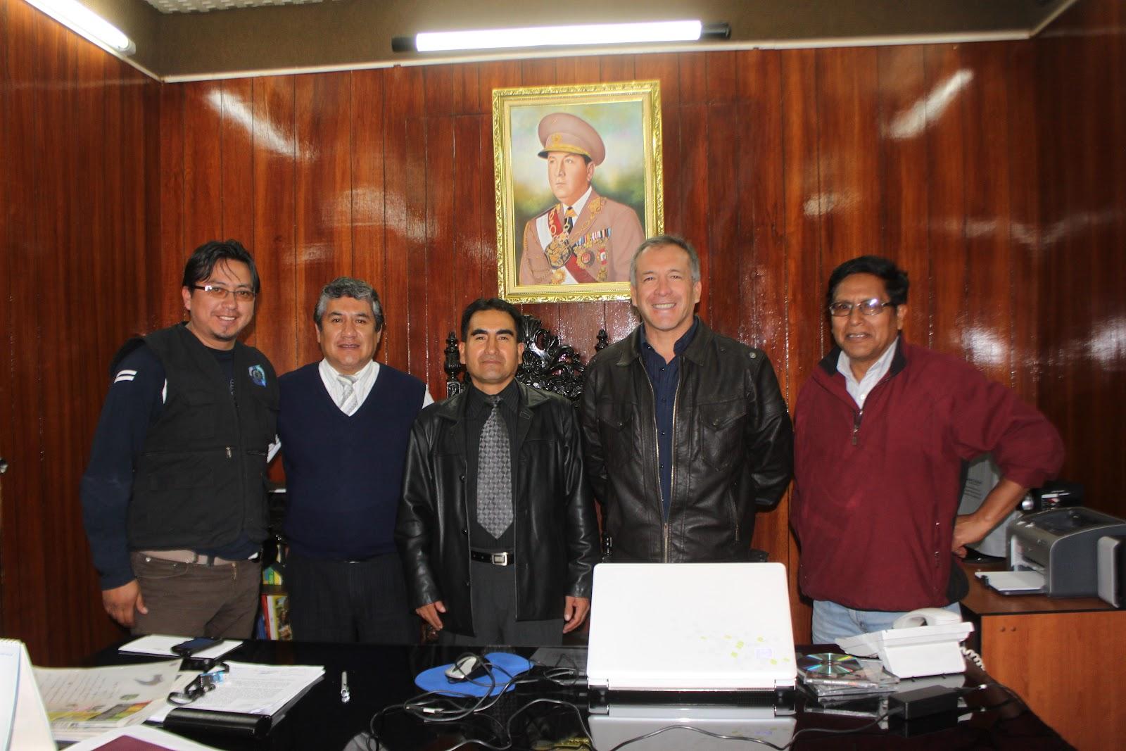 Agro jun n impulsan mega proyecto de irrigaci n en tarma for Municipalidad de tarma