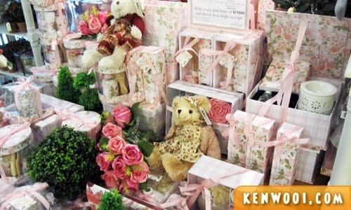 christmas pink gift set