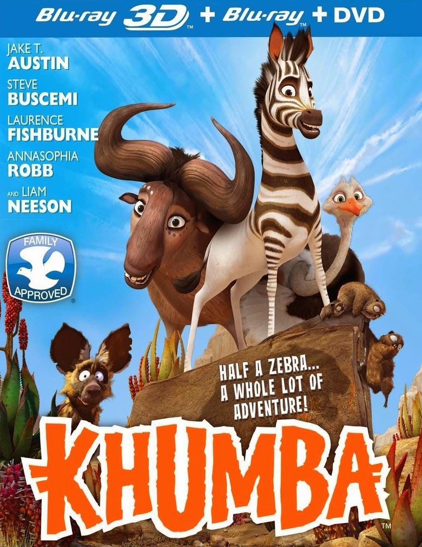 ดูการ์ตูน Khumba  ม้าลายแสบซ่าส์ ตะลุยป่าซาฟารี