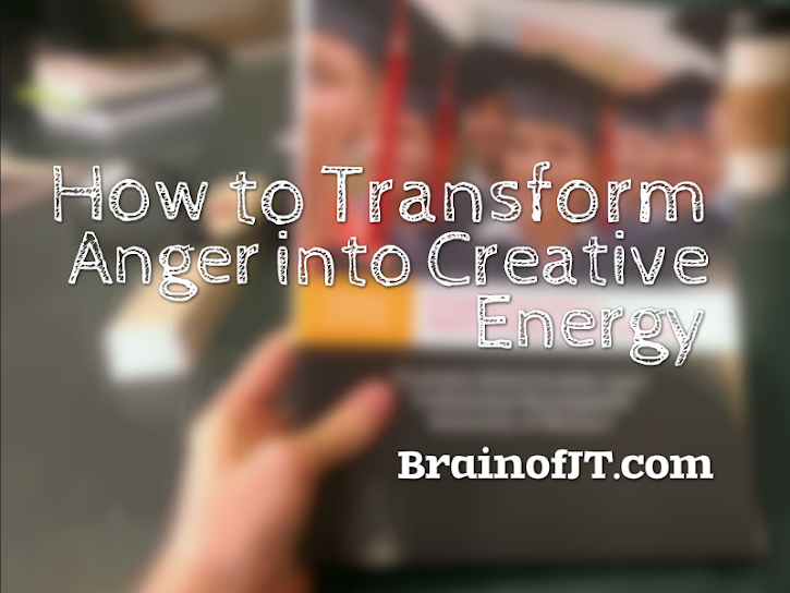 How to Transform Anger into Creative Energy