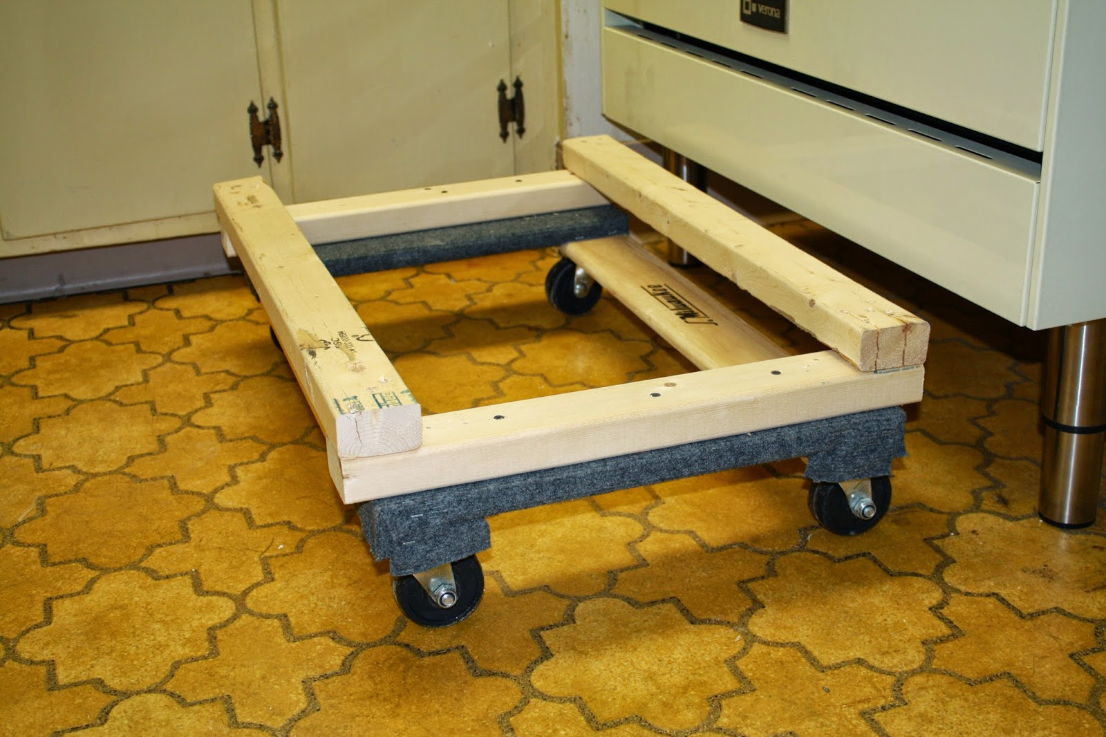 Stove Dolly - Oven Dolly