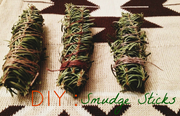 Christmas Tree, DIY, Smudge Sticks
