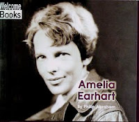 bookcover of Amelia Earhart by Philip Abraham.  This book for First Graders