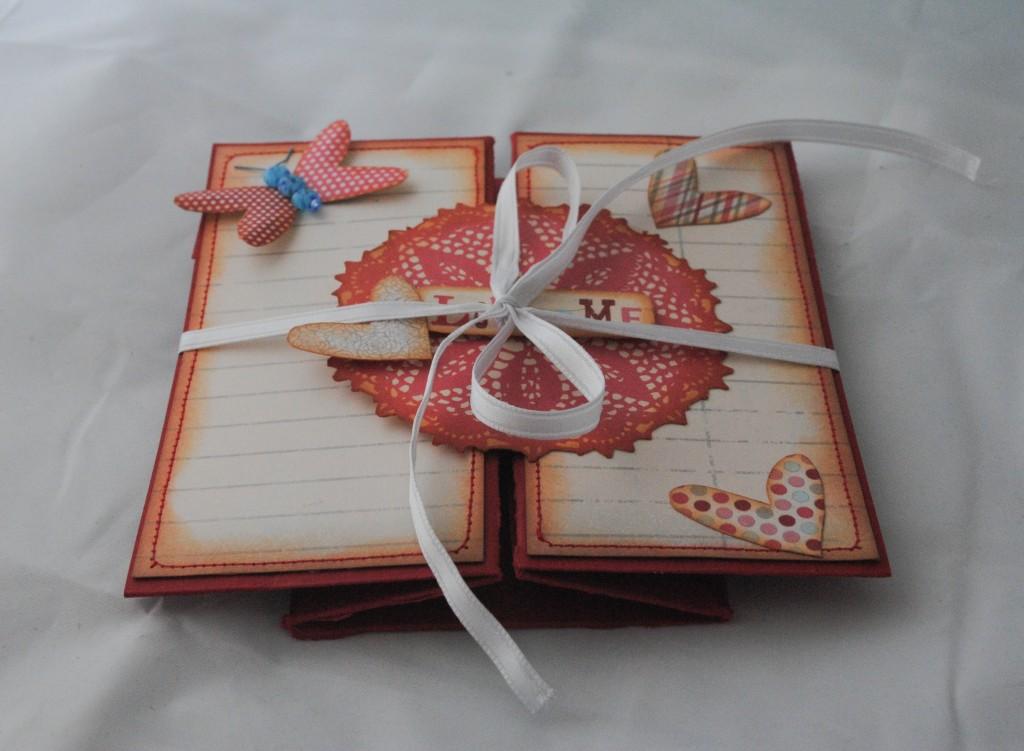 C scara de papel tutorial para hacer una tarjeta caja - Como hacer una felicitacion de navidad original ...