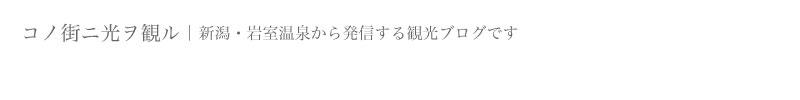 いわむろや|コノ街ニ光ヲ観ル|新潟・岩室温泉から発信する観光ブログです!