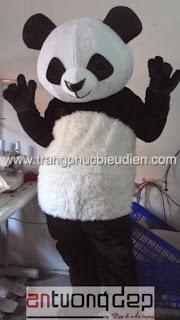 may bán mascot gấu trúc