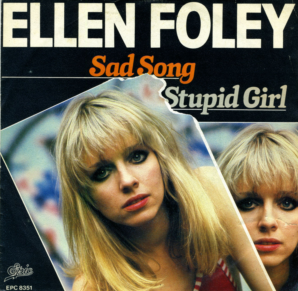 Music On Vinyl Sad Song Ellen Foley