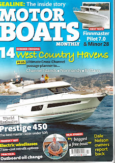 Look Mum, that's me on the cover of MOTOR BOATS MONTHLY