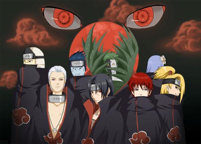 Naruto Shippuden Akatsuki Members