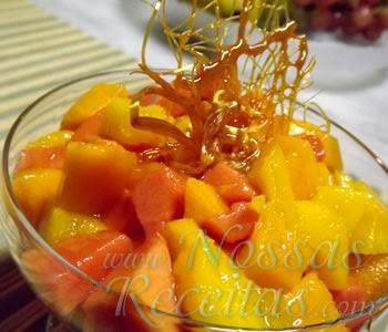 receita deliciosa de salada de frutas
