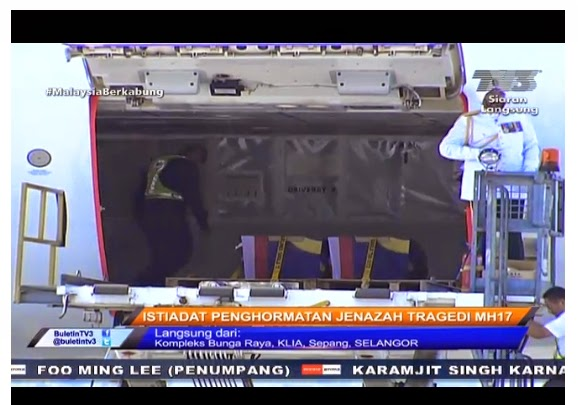 Siaran Langsung Penerimaan Jenazah MH 17, 22/8/14