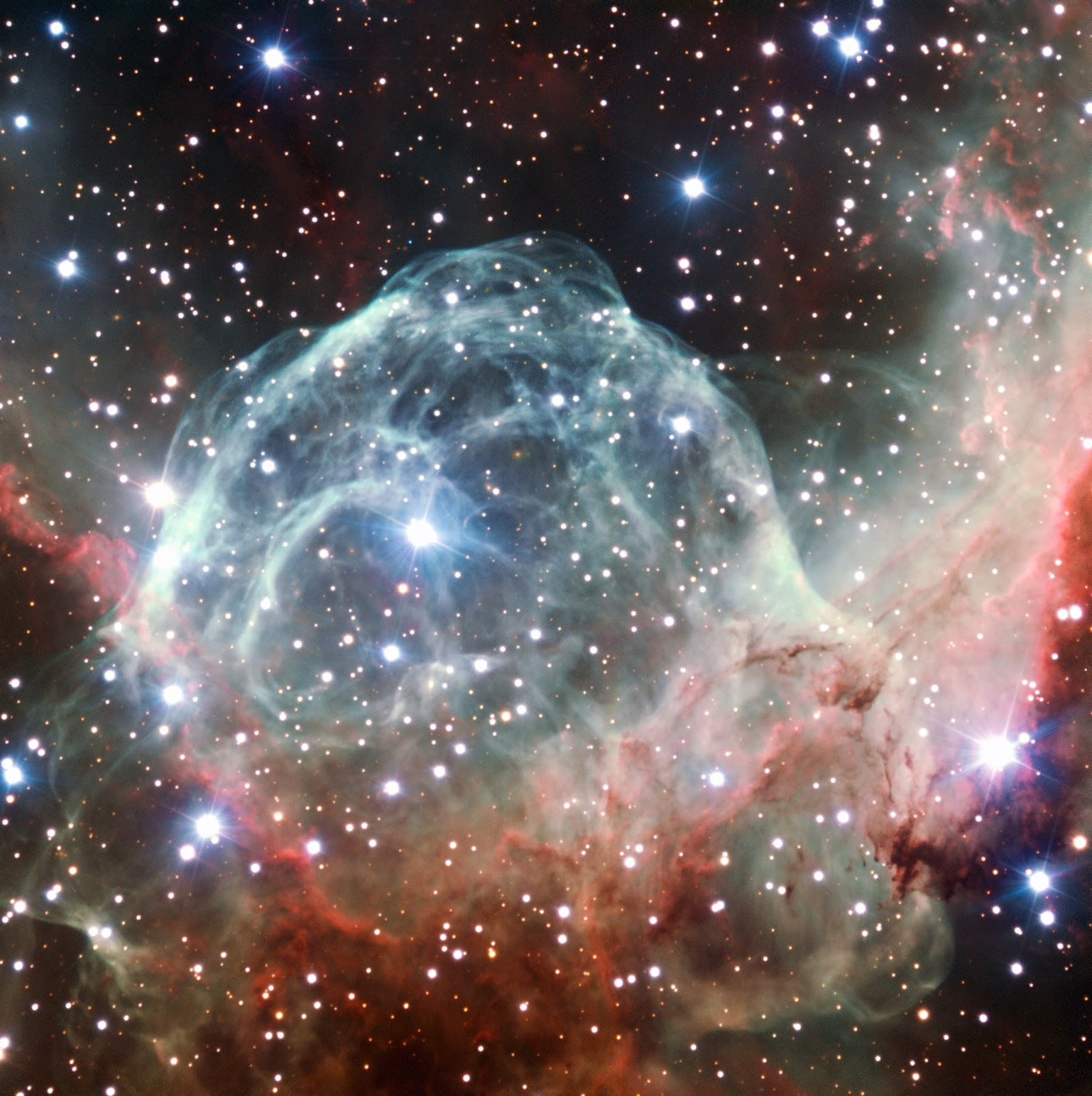 Nebulae - Thor's Helmet Nebula - NGC 2359 - ESO