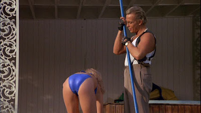 Not of This Earth 1988 Traci Lords bikini ass