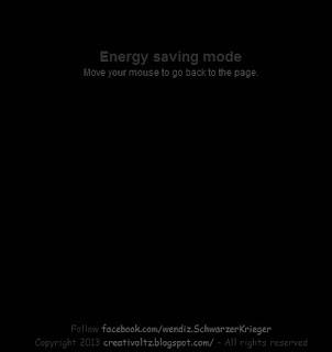 Cara Membuat Energy Saving Mode Pada Blogspot