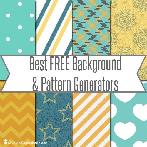 pattern generators