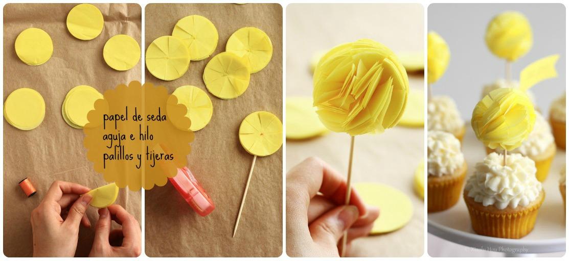 Pasos para hacer pompones papel crepe imagui - Como se hacen los pompones ...