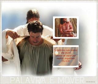 Jesus se desposou de suas vestes para te vestir de santidade
