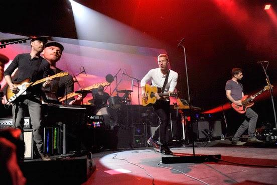 Coldplay, noticias musicales
