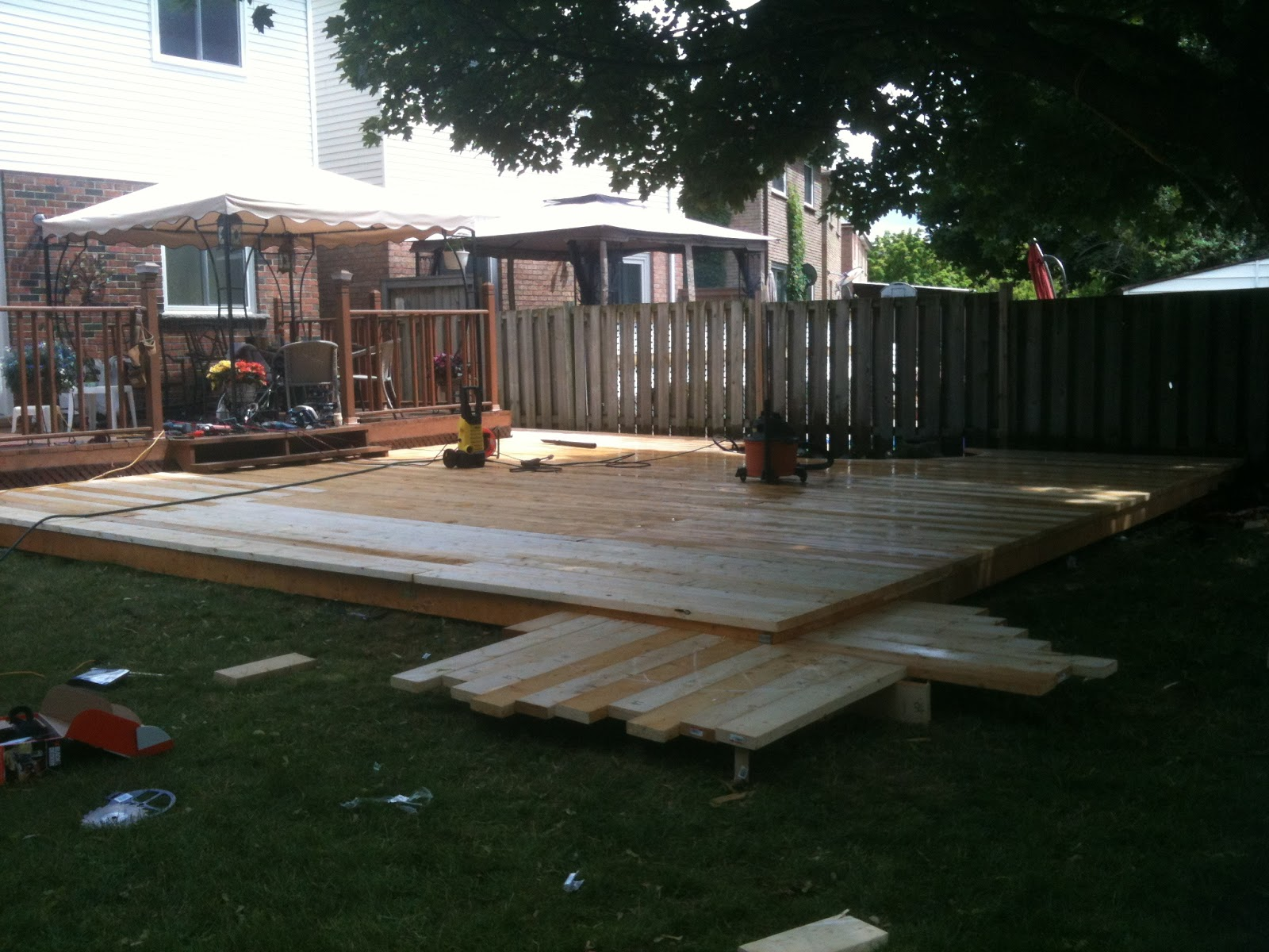 Floating deck spontaneous combustion of craig for How much to build a floating deck